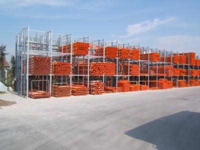 Scaffalatura per Tubi PVC