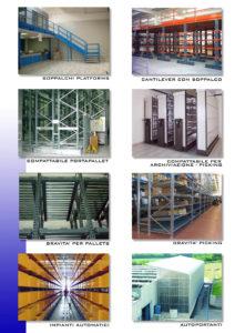 Catalogi Systemag: scaffalature industriali