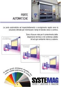 porte automatiche Systemag 2017