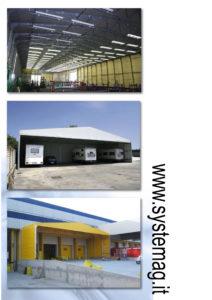 coperture estensibili, capannoni retrattili, tunnel mobili
