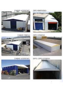 tunnel mobili, capannoni estensibili, coperture retrattili