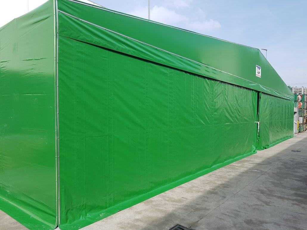 CAPANNONE MOBILE PVC PADOVA - APRILE 2019
