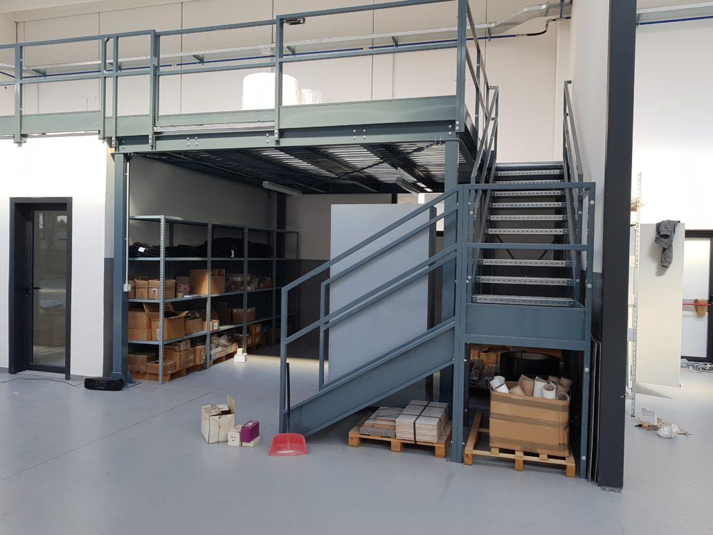 Soppalco Industriale modulare luglio 2019